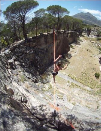 new highline opened by caio salomo and i at higgovale quarry